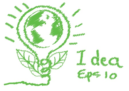 green eco vector eps 10 Illustration