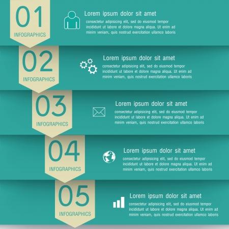 Modern Design infographics Vector