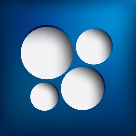 Modern circle illustration Illustration