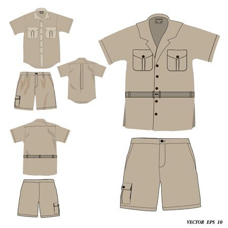 explorer: Collection of dress safari style