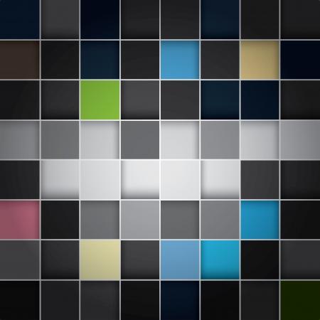 seamless blocks colour background Illustration