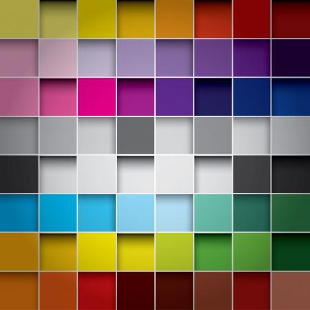 シームレスなブロックの色の背景  イラスト・ベクター素材