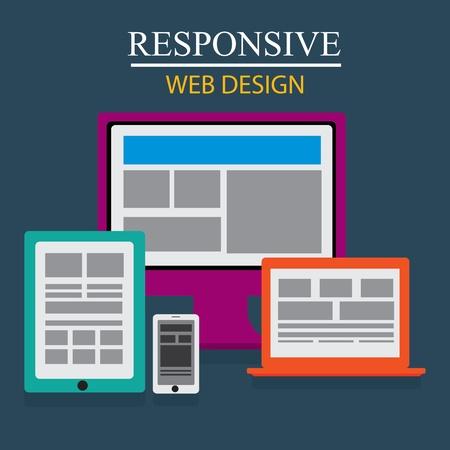 Responsive web design Stock Vector - 20916318