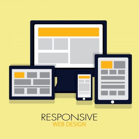 Responsive web design Çizim