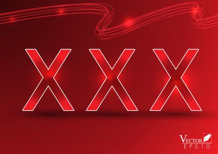 pornografia: xxx en rojo