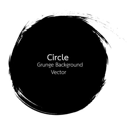 Circle Grunge design Vector