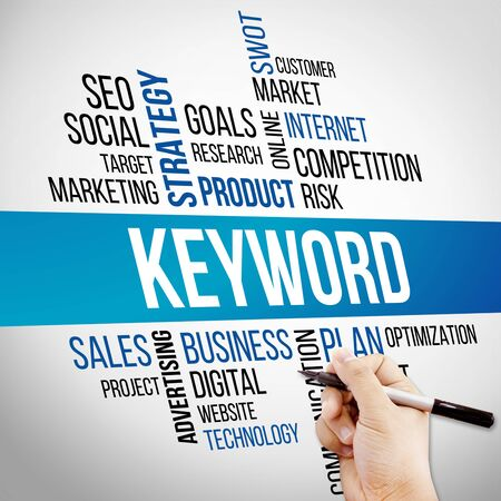 keyword: Keyword Word Cloud, business Concept