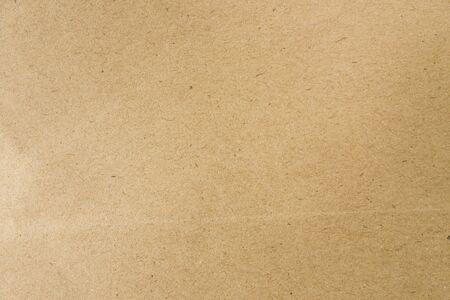 Brown Handwerk Papier für Hintergrund Standard-Bild
