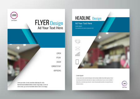 design Layout Template Brochure. For annual report