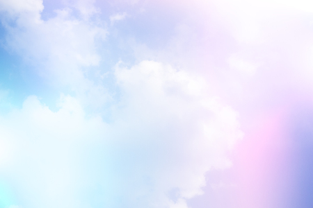 gradient soft cloud background with a pastel pink to blue  color
