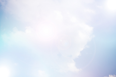 gradient soft cloud background with a pastel