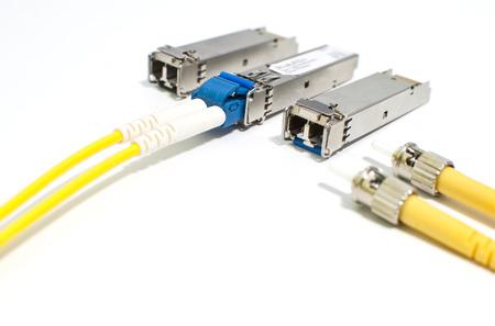 SFP Module with Fiber Optic Patch cord Stock fotó
