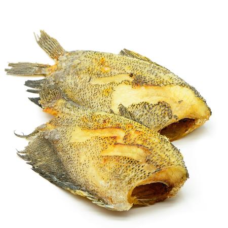 pectoralis: Deep fried Salid fish, Snake Skin Gourami (Trichogaster pectoralis)