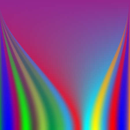 Colorful multicolored abstract background, wave design element