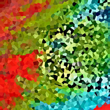 filler: Abstract multicolored mosaic background texture, filler image, illustration Stock Photo