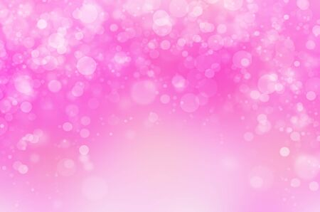 pink decorations: Colorful bokeh abstract light background for web design, filter image Stock Photo