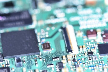 microprocessor: Computer chip database, microprocessor technology, selective focus