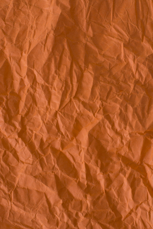 Orange paper abstract background in old vintage profile Stock Photo