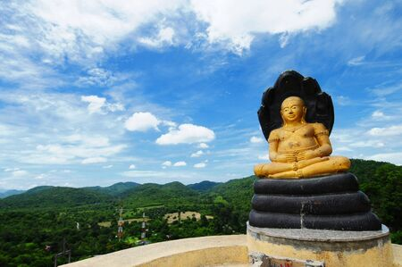 Golden Buddha Image, Thailand Stock Photo - 13105092