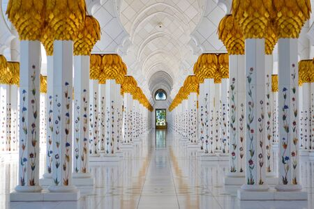 Grand Mosque Abu Dhabi Imagens - 39676198