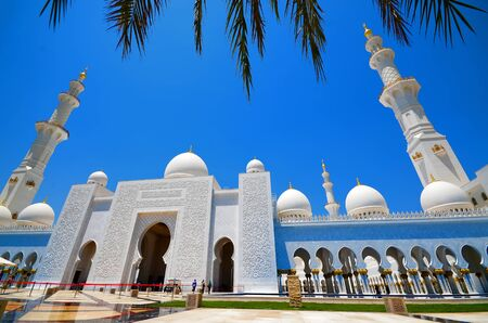 Grand Mosque Abu Dhabi Editorial
