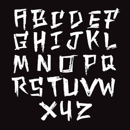Brush Font - Poweful, Aggressive