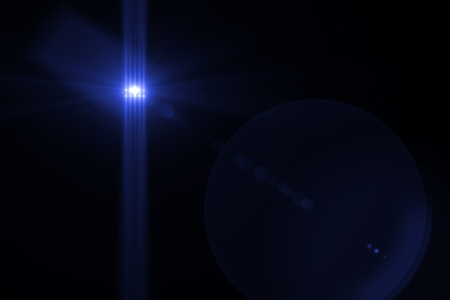 bacground: digital lens flare in black bacground horizontal frame Stock Photo