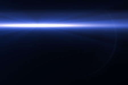 opening party: digital lens flare in black bacground horizontal frame Stock Photo