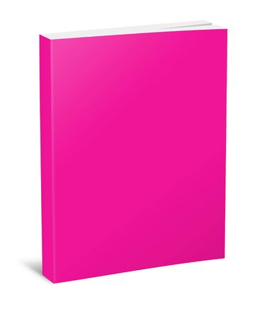 hardcover: Blank square hardcover album template on white background