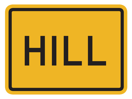 motorist: Delaware Hill Sign