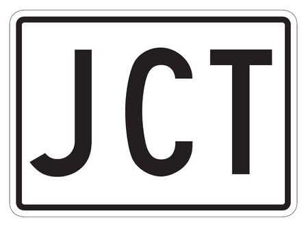 jct: Supplemental guide road sign in Ontario - Canada