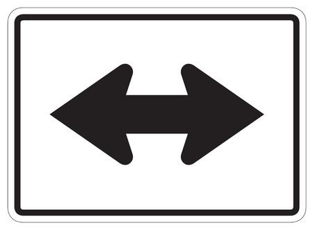 flèche double: 2 côté icône flèche Arrondi bouton carrés, sur fond blanc Banque d'images