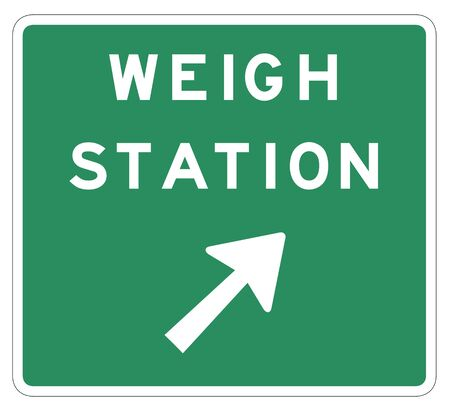 United States MUTCD weigh station sign