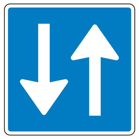 no pase: La señal de tráfico 522 en Finlandia - lugar de paso (en carreteras estrechas)