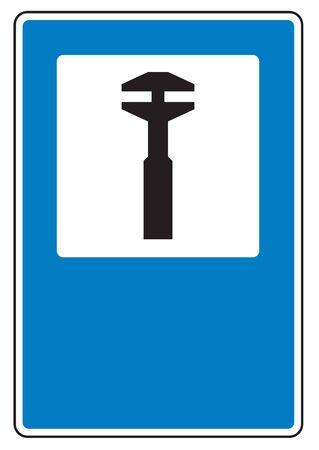 repairs: Road sign used in Switzerland - Repairs.