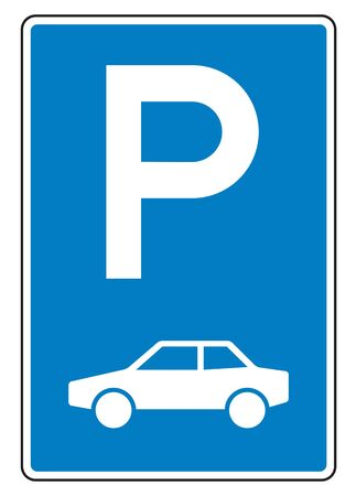 parking sign: Car parking sign