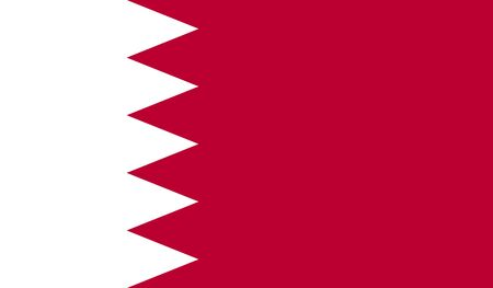 bahrain: Bahrain flag Stock Photo