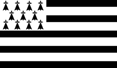 brittany: JPG image of Brittany flag