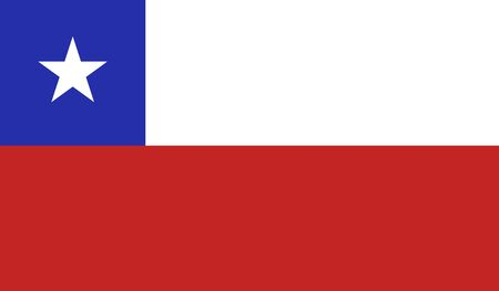 chile flag: background of chile flag