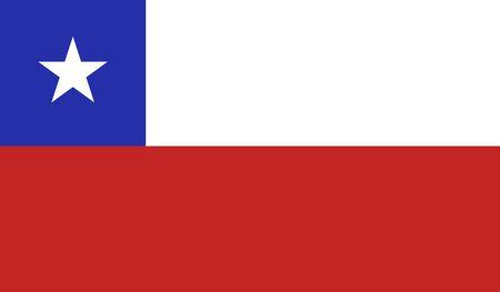 bandera de chile: fondo de la bandera de Chile Foto de archivo