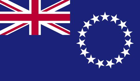 reflection: reflection flag cook islands