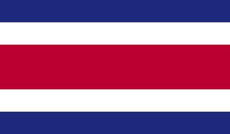 bandera de costa rica: Bandera de Costa Rica  Foto de archivo