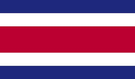 ethnical: Costa Rica flag Stock Photo