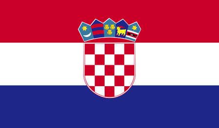 bandera de croacia: Bandera de Croacia