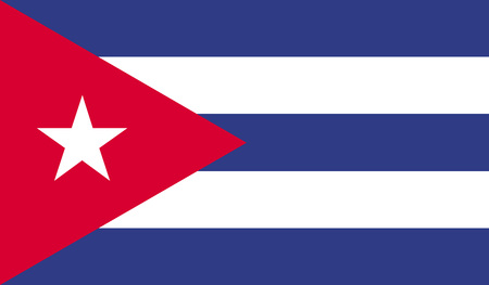 bandera cuba: Bandera Cuba  Foto de archivo