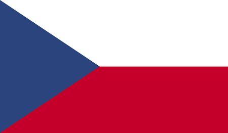 the czech republic: Flag of the Czech Republic.