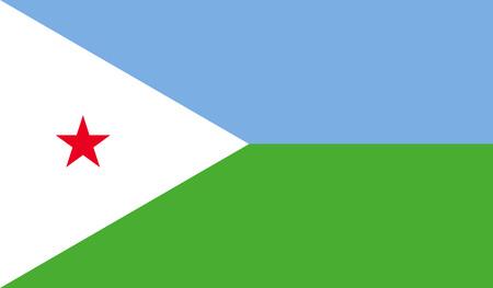 djibouti: Djibouti flag