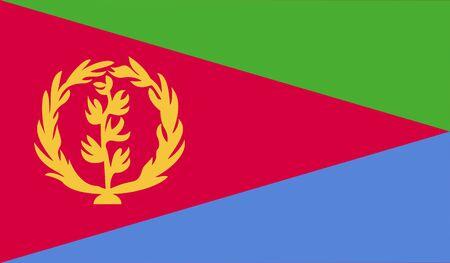 origins: Flag of Eritrea.