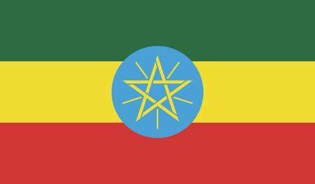 ethiopia flag: Ethiopia flag.