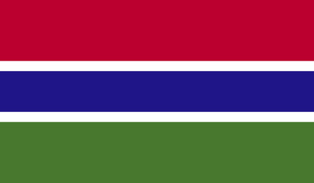 proportional: Flag of The Gambia